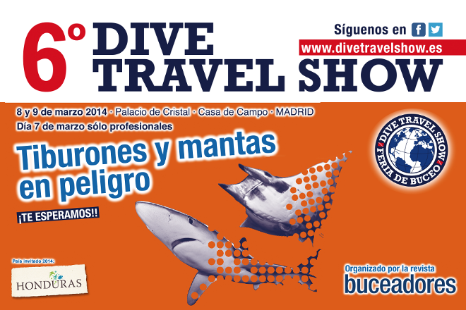 Entrada para el Dive Travel Show en Madrid